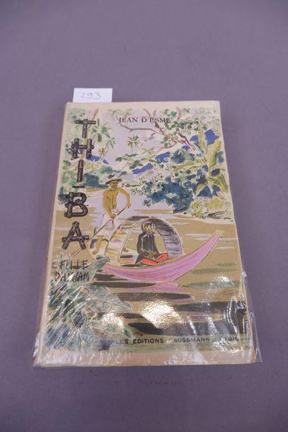 THI - BA Fille D'Annam Illustrations de Jacques BOULLAIRE, Auteur Jean D'ESMES,...