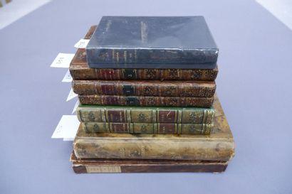 Ensemble de livres comprenant notamment :    - USSIEUX (D'). Les Nouvelles françoises....