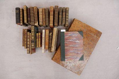 Ensemble de livres reliés