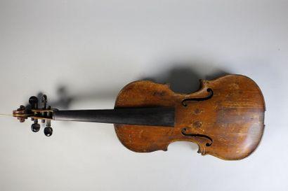 Violon de l'école allemande. XIXe siècle....