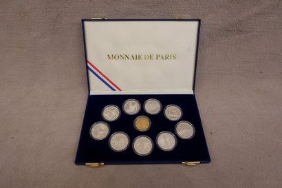 Coffret Monnaie de Paris pour les JO d'Albertville...