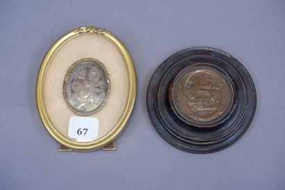 Médaille commémorative des morts de la Liberté...