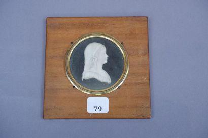 Ecole du XVIIIe siècle. Portrait de Madame...