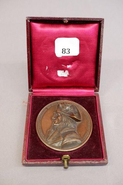 Médaille en bronze. Bonaparte Général en...