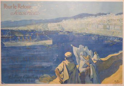 Affiche «Pour le Retour, Souscrivez- 4 ème...
