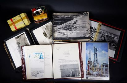 Ensemble de documents, gravures, photographies...