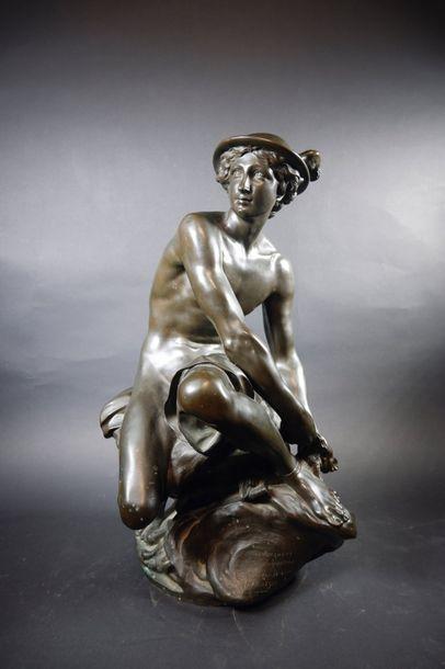 Jean-Baptiste PIGALLE (1714-1785) (d'après)