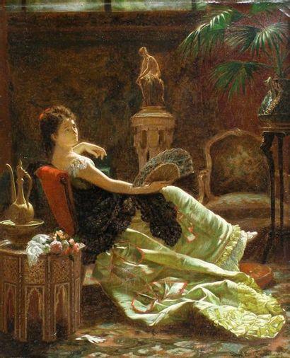 Louis Émile PINEL DE GRANDCHAMP (1831 - 1894)...