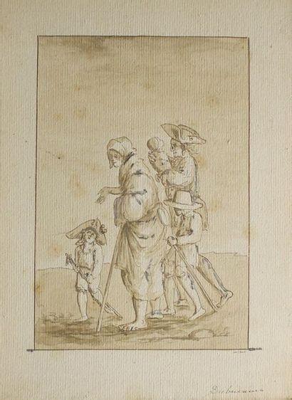 Attribué à Philibert-Louis DEBUCOURT (1755-1832)