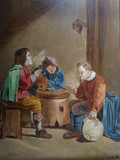 Ecole Hollandaise de la fin du XIXe siècle