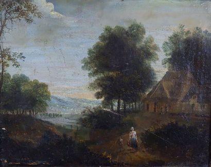 École HOLLANDAISE du XVIIIe siècle