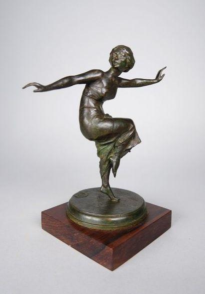 Boris FRODMAN-CLUZEL (1878-1969) Ludmilla Scholar dans 'Cléopâtre' par Michel Fokine...