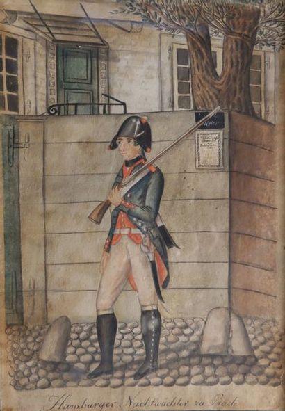 Ecole prussienne de la fin du XVIIIe siècle