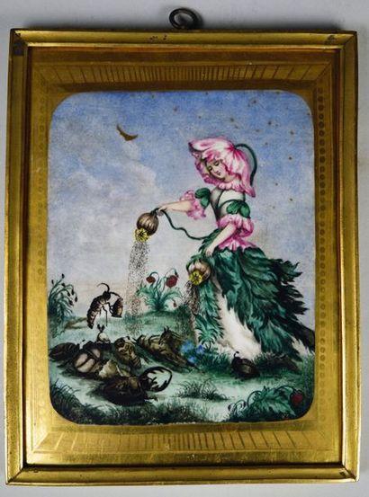 D'après Jean Ignace Isidore GRANDVILLE (1803- 1847)