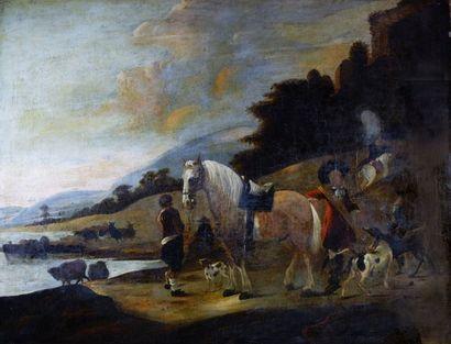 Attribué à Dirck STOOP (1610/18-1681/86)