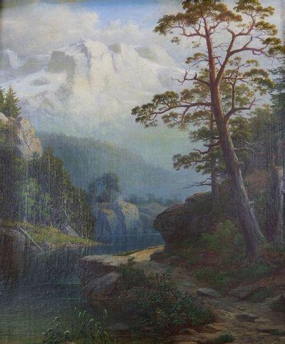 Dans le goût de Josef NAVRATIL (1798- 1865)