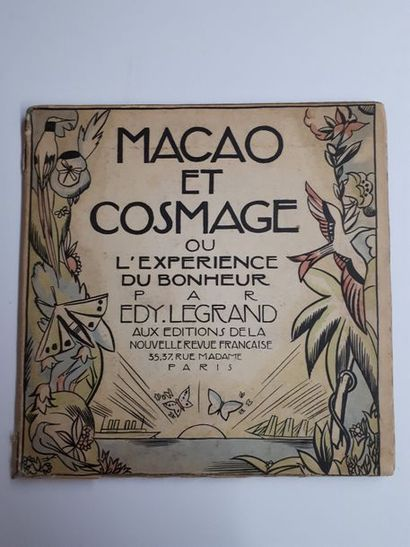 Edy LEGRAND. Macao et Cosmage, ou l'expérience...