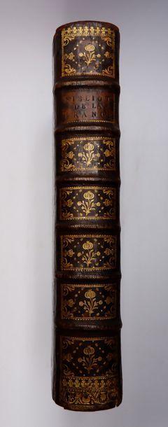 Jacques LELONG. Bibliothèque historique de...