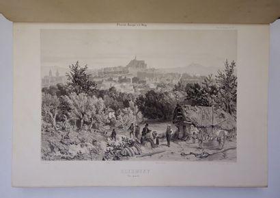 Adolphe MICHEL. Atlas pour L'Ancienne Auvergne...