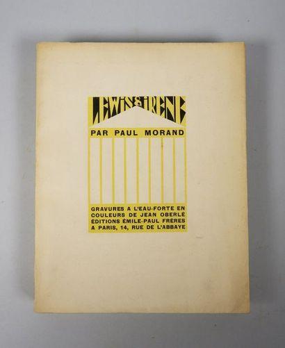 Paul MORAND. Lewis et Irène. Paris, Emile-Paul,...