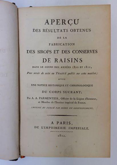 Antoine-Augustin PARMENTIER. Aperçu des résultats...