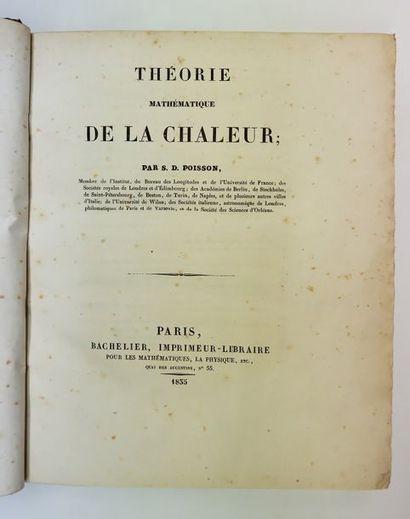 S. D. POISSON. Théorie mathématique de la...