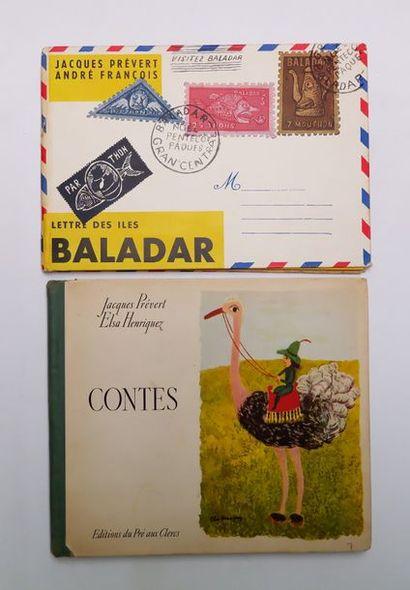 Jacques PRÉVERT. Lettre des îles Baladar....
