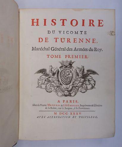 [Chevalier de RAMSAY]. Histoire du vicomte...