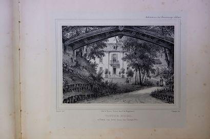 Auguste REGNIER. Habitations des personnages...