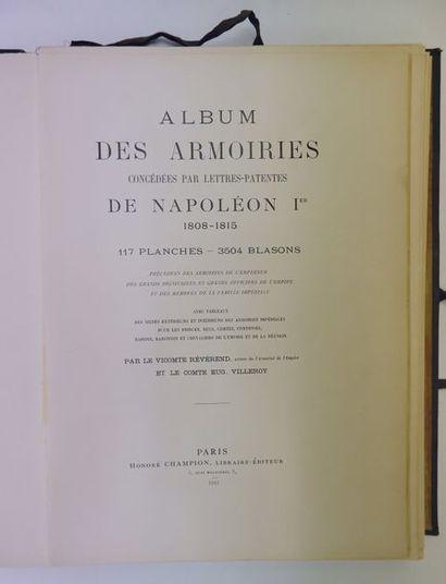 Vicomte REVEREND et Comte Eugène VILLEROY....
