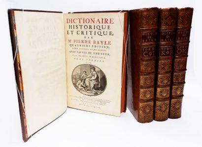 Pierre BAYLE. Dictionnaire historique et...