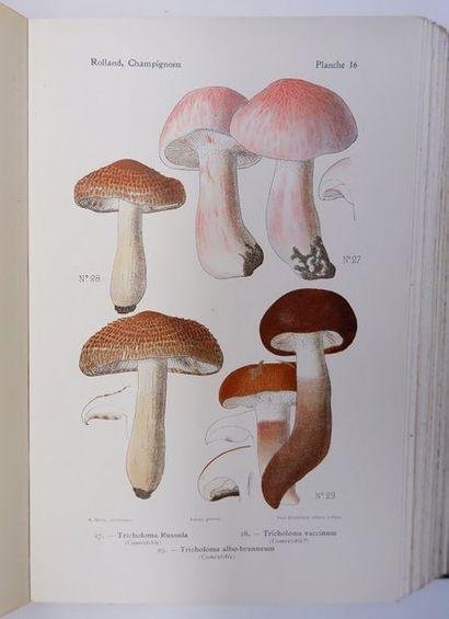 Léon ROLLAND. Atlas des champignons de France,...