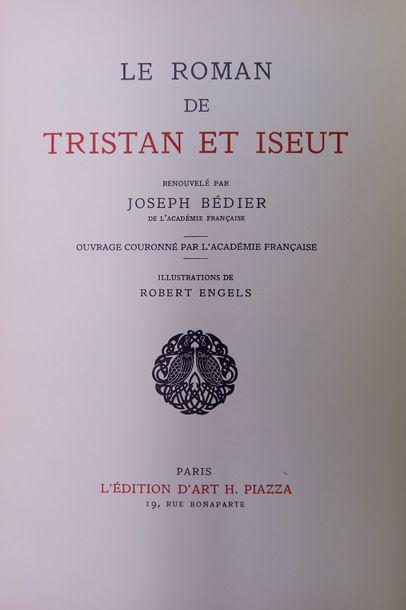 Le ROMAN DE TRISTAN ET ISEUT. Paris, Piazza,...