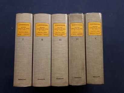 Avenir TCHEMERZINE. Bibliographie d'éditions...