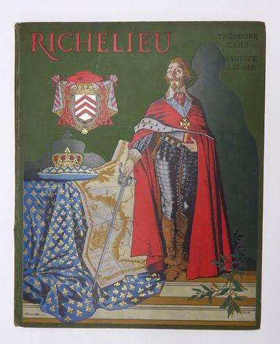 Théodore CAHU. Richelieu. Paris, Boivin,...