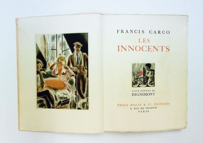 Francis CARCO. Les Innocents. Paris, Hazan,...
