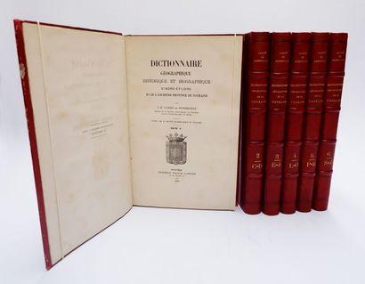 J.-X. CARRÉ de BUSSEROLLE. Dictionnaire géographique,...