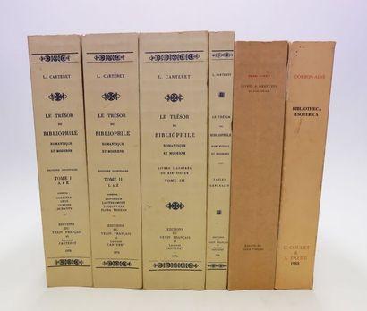 L. CARTERET. Le Trésor du bibliophile romantique...