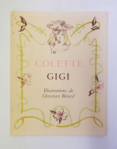 COLETTE. Gigi. Paris, Dupont, 1950. In-4,...