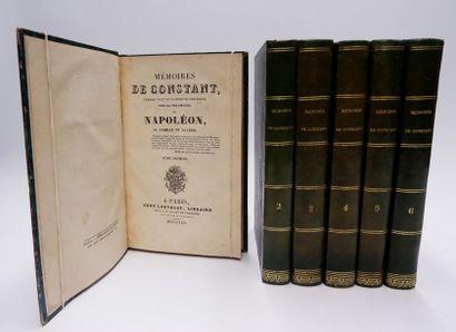 Louis Constant Wayri dit CONSTANT. Mémoires… sur la vie privée de Napoléon, sa famille...