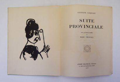 Gustave COQUIOT. Suite provinciale. Paris,...