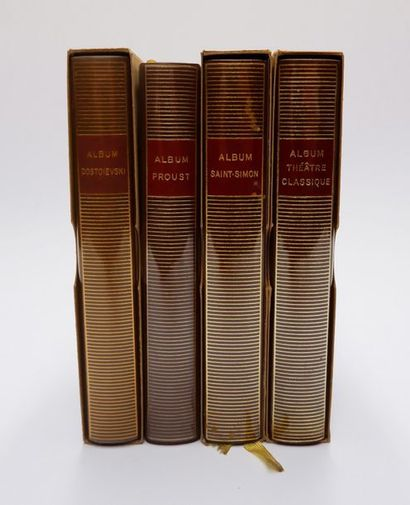ALBUMS DE LA PLEÏADE. Dostoïevski. Proust....