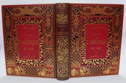 Docteur J. CREVAUX. Voyages dans l'Amérique...