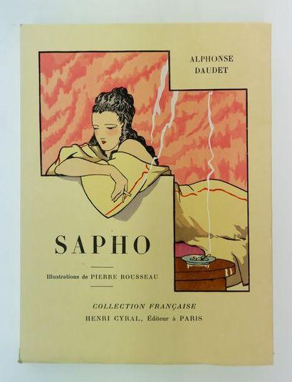 Alphonse DAUDET. Sapho… Paris, Cyral, 1929....