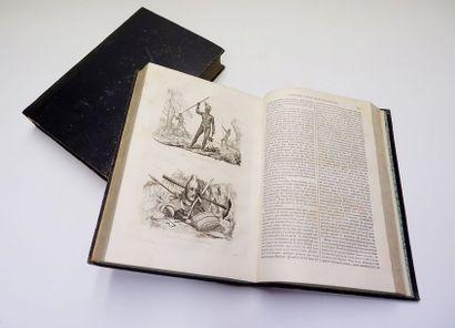 Jules-Sébastien-César DUMONT D'URVILLE. Voyage pittoresque autour du monde... Paris,...
