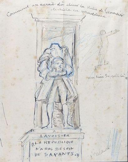 Léon Adolphe WILLETTE (1857-1926) Lavoisier,...