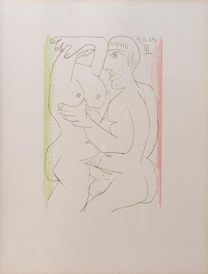 Pablo PICASSO (1881-1973) Le goût du bonheur....