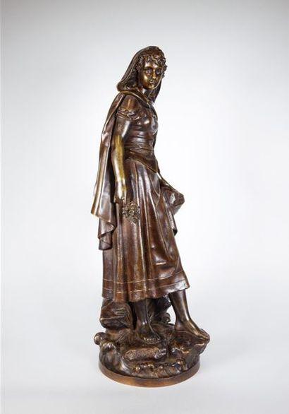 Eutrope BOURET (1833-1906) Esméralda. Epreuve...