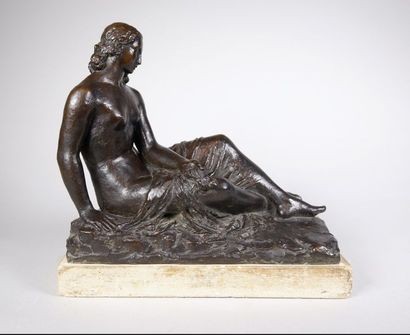 Pierre Marie POISSON (1876-1953) Femme allongée...