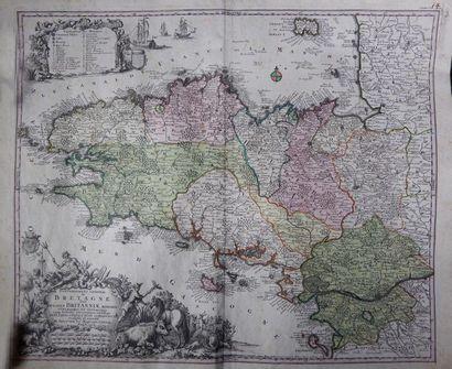 Tobbias Conrad LOTTER (1717-1777) Carte du...